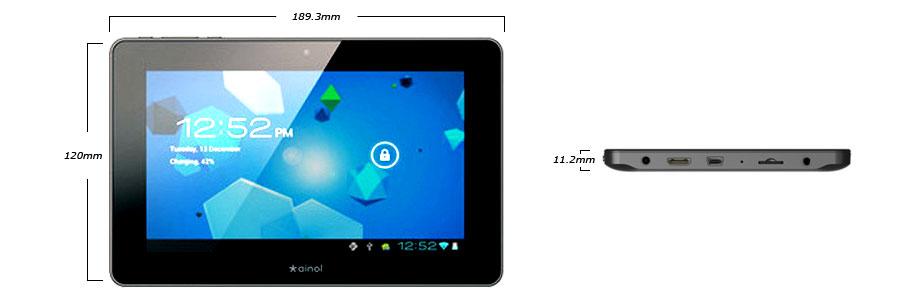 Prezentare tableta NOVO7 Advanced II